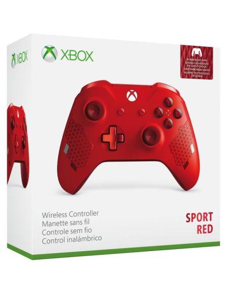 Manette Xbox One Sans Fil Edition Spéciale Sport Red