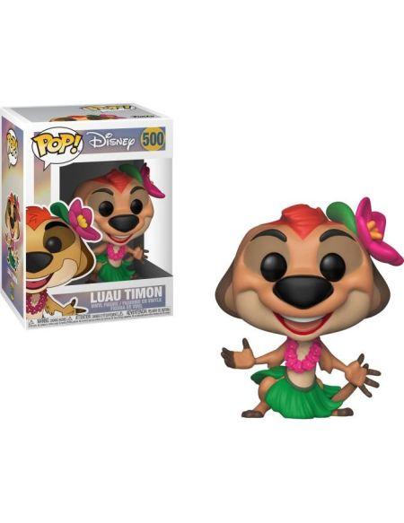 Figurine Funko Pop! Disney: Le Roi Lion - Luau Timon
