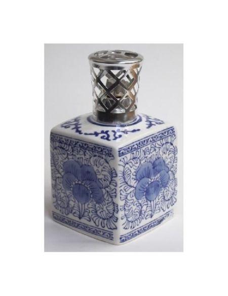 Lampe à parfum sans recharge - encrier bleu