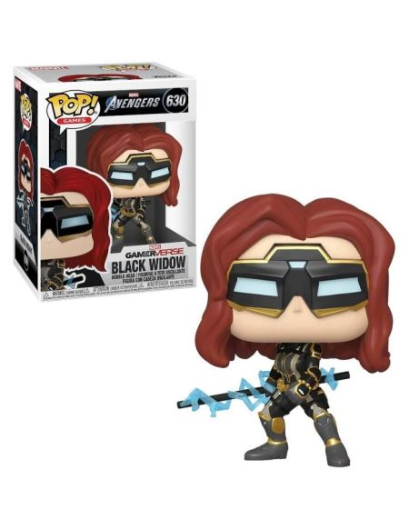 Figurine Funko Pop! Ndeg630 - Avengers Le Jeu - Black Widow (c)