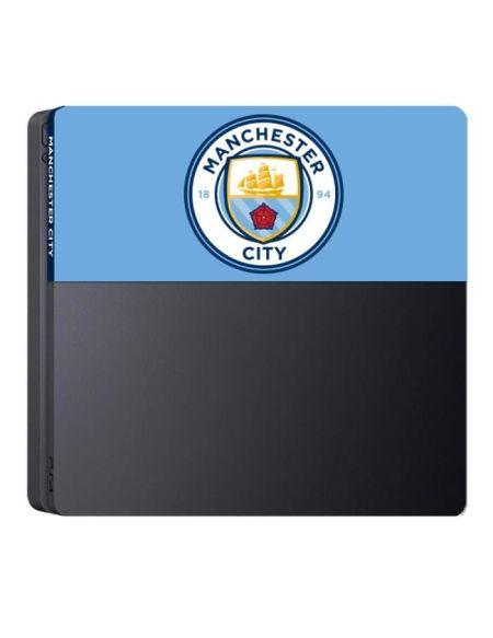 Façade de personalisation Manchester City Football Club pour PS4 Slim