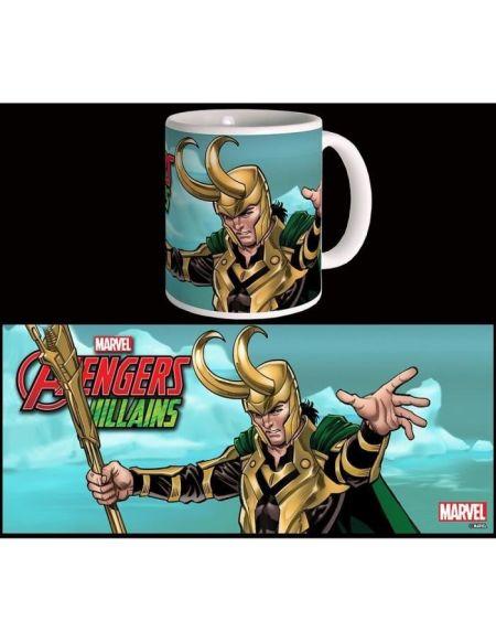 Mug Marvel - Villains: Loki