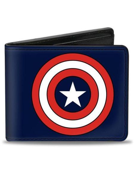 Porte-Feuille Marvel: Logo Captain America