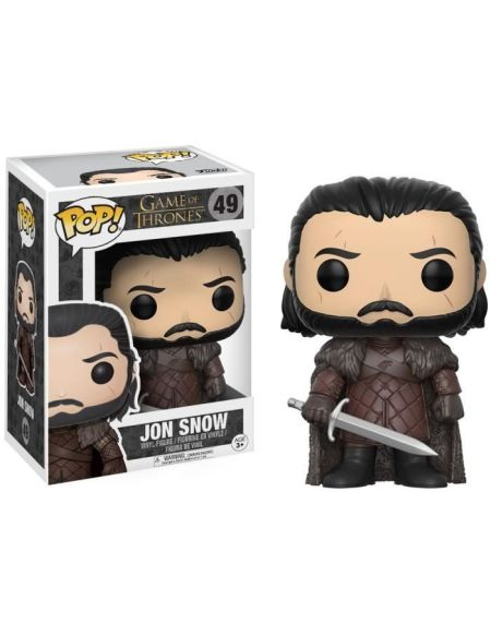 Figurine Funko Pop! Game Of Trones : Jon Snow