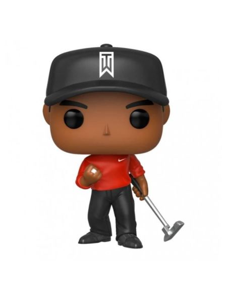 Figurine Funko Pop! - Golf - Tiger Woods (shirt Rouge)