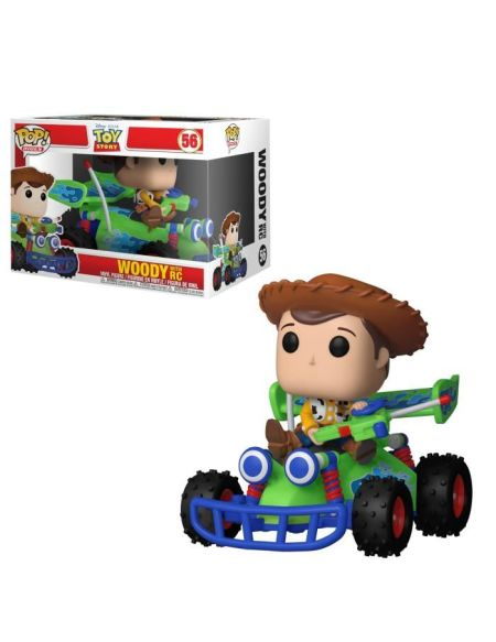 Figurine Funko Pop! Rides: Toy Story - Woody w/ RC