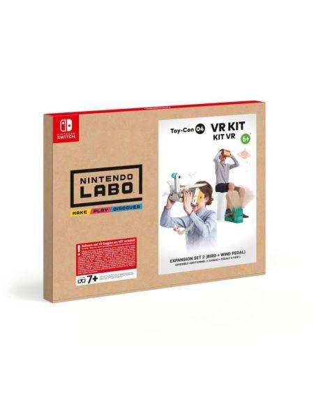 Nintendo Labo - Toy-Con 04 - KIT VR : Ensemble additionnel 2 (oiseau + pédale à vent)