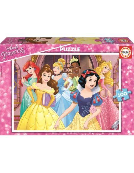 DISNEY PRINCESSES Puzzle 100 Pièces