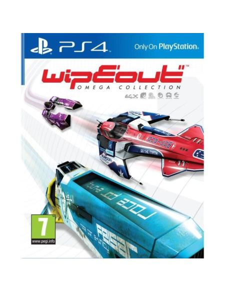 WipEout Omega Collection Jeu PS4/PSVR