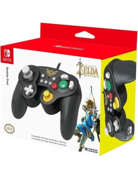 Manette Super Smash Bros Zelda pour Switch