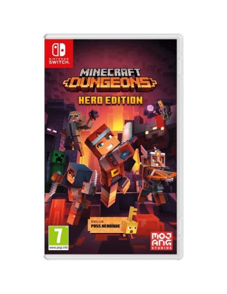 Minecraft Dungeons - Hero Edition (Pass Héroïque inclus) - Jeu Nintendo Switch
