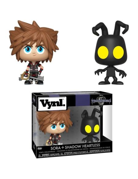 Figurine Vynl - Kingdom Hearts 3 - Twin-pack Sora et sans-coeur