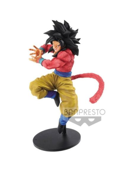 Figurine Dragon Ball GT : Son Goku Super Saiyan 4 x10 Kaméhaméha - Banpresto