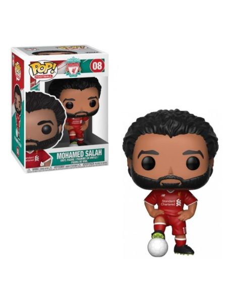 Figurine Toy Pop N°08 - English Premier League - Liverpool Mohamed Salah