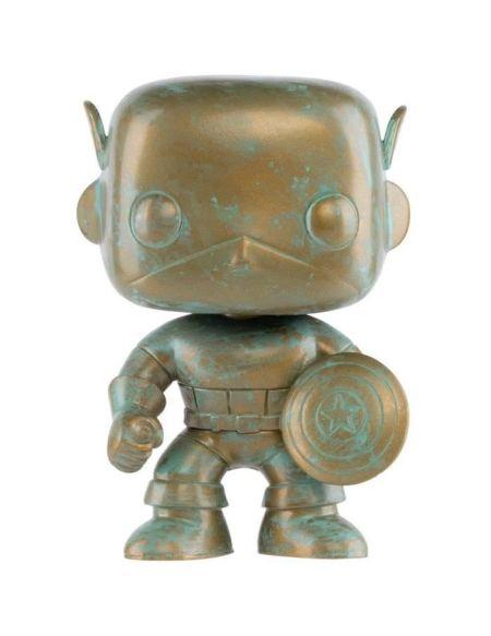 Figurine Funko Pop! Marvel : Marvel 80th - Captain America (PT)
