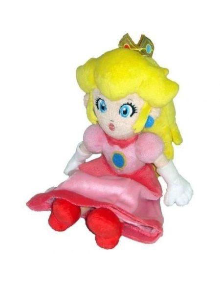 Peluche - Nintendo - Princesse Peach 23 cm