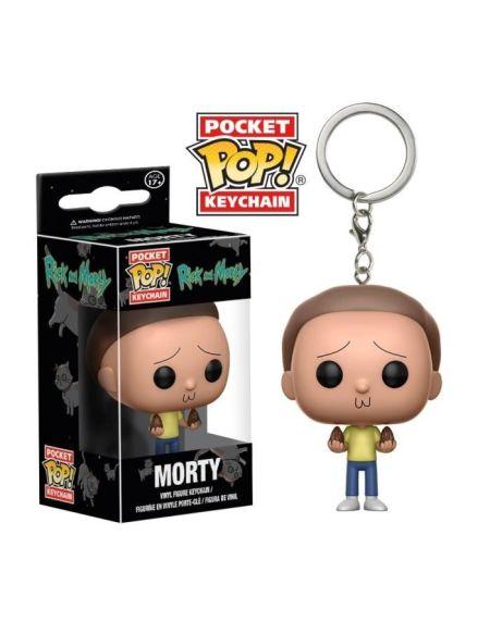 Porte-clé Funko Pocket Pop! Rick & Morty : Morty