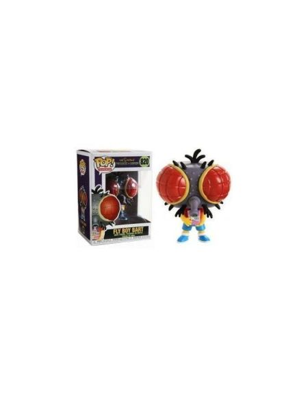 Figurine Funko Pop! Ndeg820 - Simpsons S3 - Bart En Mouche