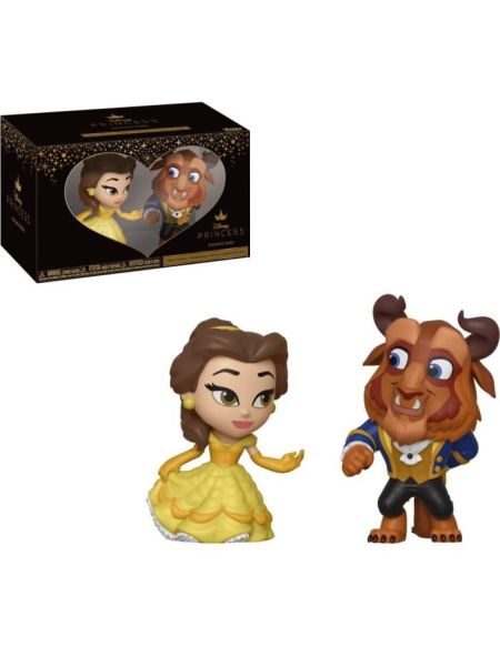 Figurines Funko Mini Vynl: La Belle et la Bête - Belle et Bête