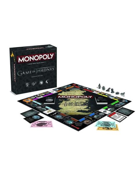 MONOPOLY - Game of Thrones - Edition Deluxe - Jeu de société - Version française
