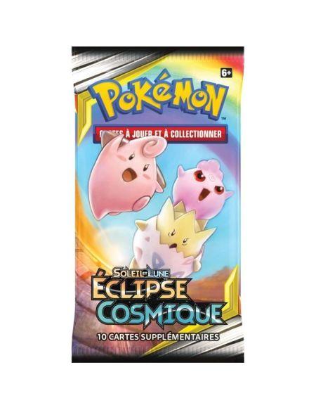 POKEMON Soleil et Lune 12 - Booster Eclipse cosmique SL12 - 10 cartes Pokémon - Modèle aléatoire