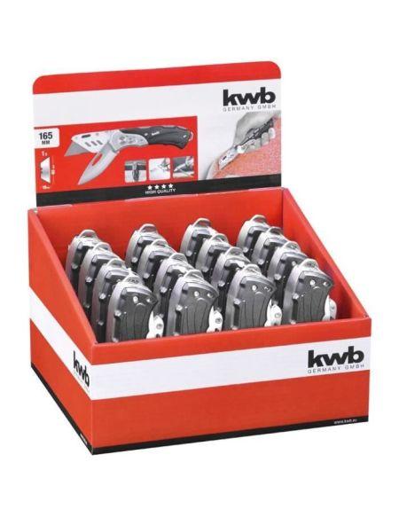 KWB 16 pièces de couteaux universel
