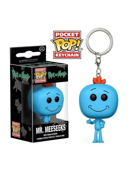 Porte-clé Funko Pocket Pop! Rick & Morty : Mr Meeseeks