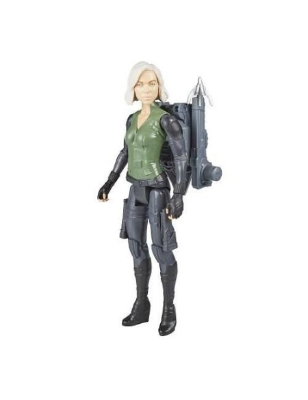 AVENGERS INFINITY WAR - BLACK WIDOW - Figurine Titan Power Pack 30cm