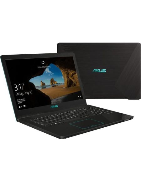 "PC Portable Gamer - ASUS FX570ZD-DM921T - 15,6"" FHD - AMD R5-2500U - RAM 8Go - Stockage 128Go SSD + 1To HDD - GTX1050 - Win10"