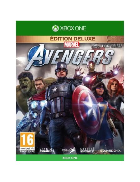 Marvel's Avengers Edition Deluxe Jeu Xbox One