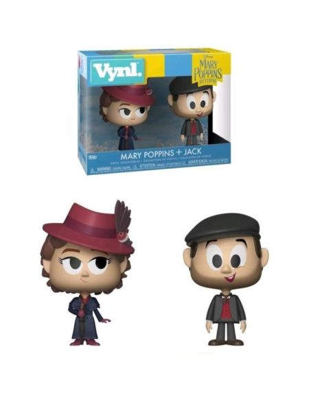 Figurine Funko Vynl Disney : Mary Poppins (2018) - Mary Poppins + Jack