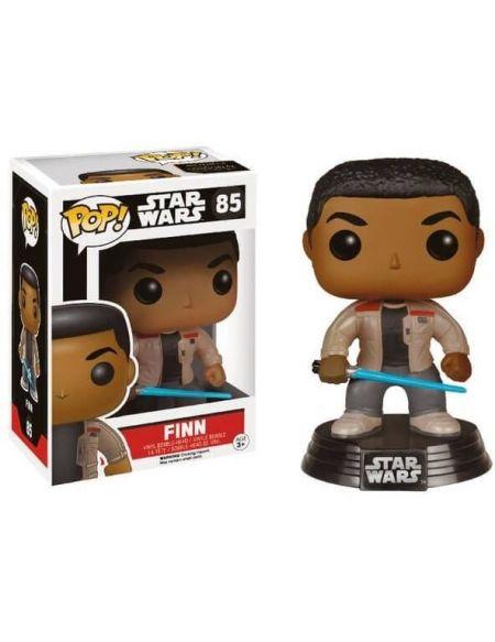Figurine Funko Pop! N°85 - Star Wars - Episode 7 Finn Avec Sabre Laser