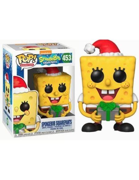 Figurine Funko Pop! Bob l'éponge: Bob l'éponge (Noël)