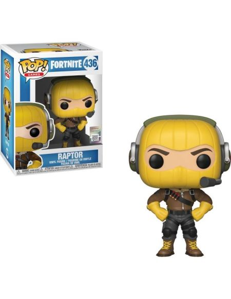 Figurine Funko Pop! Fortnite : Raptor