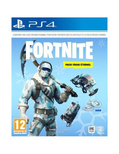 Fortnite - Deep Freeze Bundle pour PS4