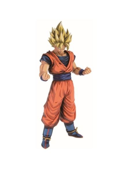 Figurine Grandista - Dragon Ball Z - Super Saiyan Son Goku
