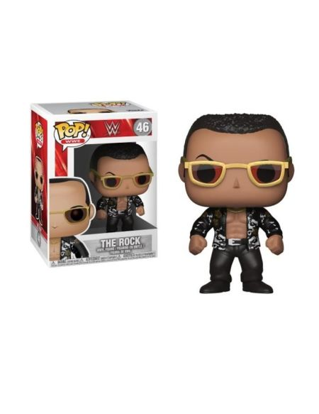 Figurine Toy Pop N°46 - WWE - The Rock Old School (c)