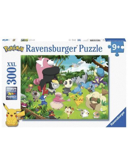 Puzzle 300 p XXL - Pokémon sauvages