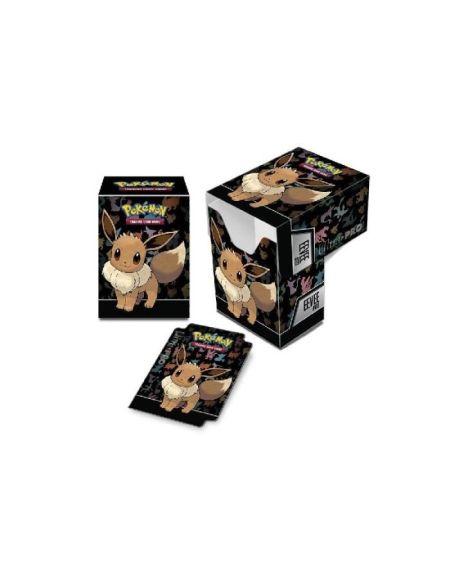 POKEMON - Boîte de Rangement Evoli - Cartes à collectionner