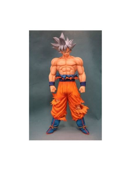 Figurine Banpresto Dragon Ball Z - Grandista Resolution Of Soldiers : Saiyan Silver Son Goku