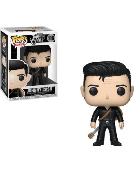 Figurine Funko Pop! N°116 - Johnny Cash - Johnny Cash en noir