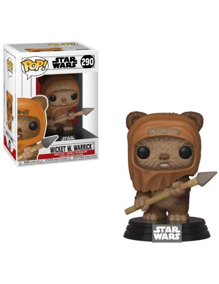 Figurine Funko Pop! Star Wars: Wicket