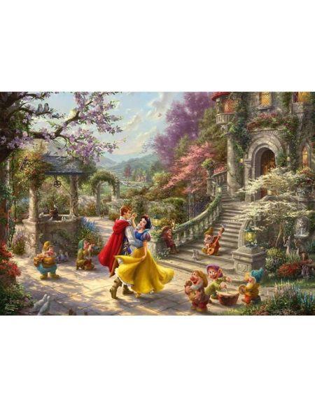 DISNEY Puzzle Blanche-Neige Danse avec le prince - 1000 pièces