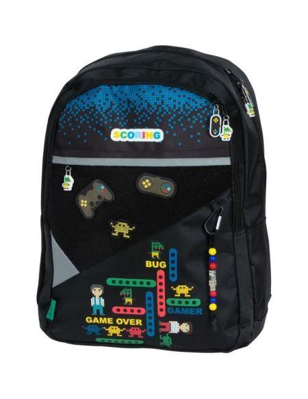 SAC A DOS 2 COMPARTIMENTS - KIP GAMER