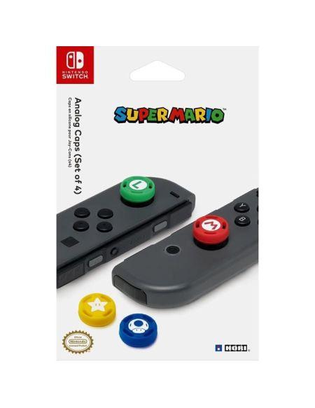 Hori 4 Appuies-Pouce pour Joy-Con Nintendo Switch - Licence Officielle Nintendo