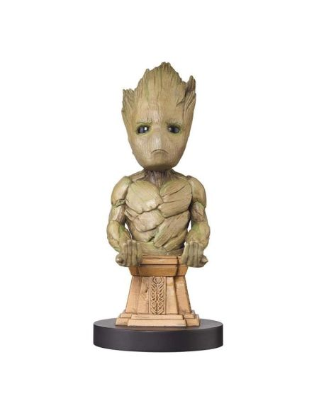Figurine support et recharge manette Cable Guy Gardiens de la Galaxie : Groot