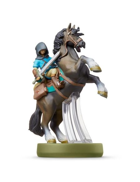Figurine Amiibo Link Rider - The Legend of Zelda: Breath of the Wild
