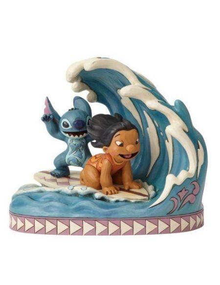 Figurine - DISNEY TRAD - LILO ET STITCH - Licence Officielle Lilo et Stitch - Enesco