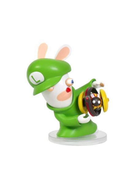 Figurine Mario + The Lapins Crétins Kingdom Battle - Luigi 8cm