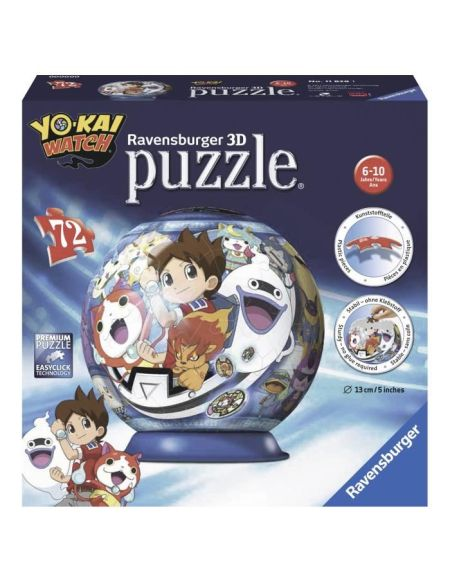 YO-KAI WATCH Puzzle 3D 72 pcs